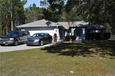 Dunnellon Single Family Home For Sale: 23037 SW Marine Boulevard