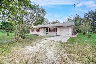 Crystal River Single Family Home For Sale: 7706 N Brahma Terrace