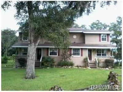 Inverness Single Family Home For Sale: 417 N 419 Apopka Avenue