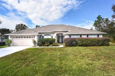 Homosassa Single Family Home For Sale: 18 Vinca Street