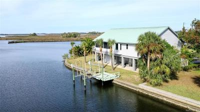 Crystal River Single Family Home For Sale: 11884 W Coquina Court
