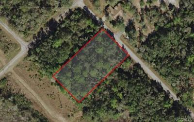 Citrus County Residential Lots & Land For Sale: 8722 N Barberry Way