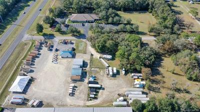 Citrus County Commercial For Sale: 639,705,677 & 625 S Scarboro Avenue
