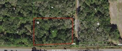 Crystal River Residential Lots & Land For Sale: 7528 N Chabaud Terrace