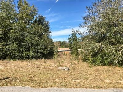 Dunnellon Residential Lots & Land For Sale: Lot 20 SW 84 Street
