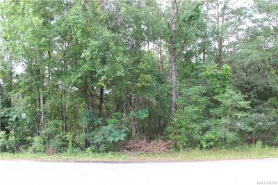 Citrus County Residential Lots & Land For Sale: 9342 N Cacalia Drive