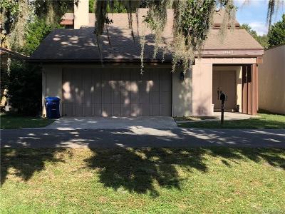 Citrus County Rental For Rent: 11643 W Riverhaven Drive