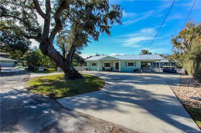 Crystal River Single Family Home For Sale: 1245 NW 5th Terrace