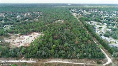 Lecanto Residential Lots & Land For Sale: 4995 W Old Citrus Road