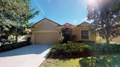 Hernando Single Family Home For Sale: 2053 N Lakecrest Loop