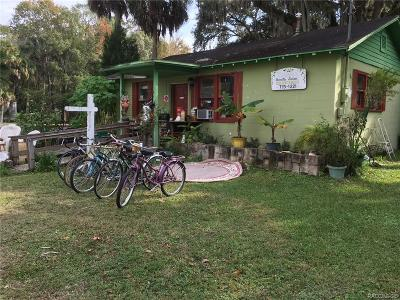 Citrus County Commercial For Sale: 48 NE Crystal Street