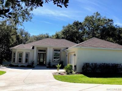 Hernando Single Family Home For Sale: 356 W Cobblestone Loop #37