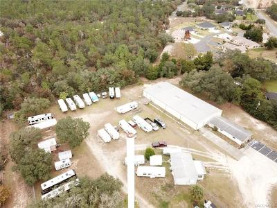 Citrus County Commercial For Sale: 5415 W Homosassa Trail