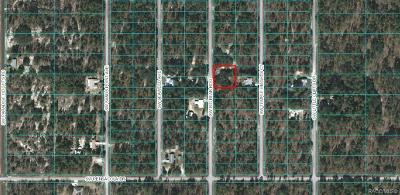 Dunnellon Residential Lots & Land For Sale: Lots 37/38 SW Big Bear Ridge