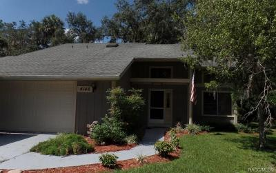 Crystal River Single Family Home For Sale: 4146 N Concord Drive