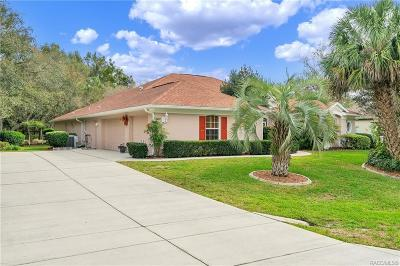 Homosassa, Dunnellon Single Family Home For Sale: 5 Woodlee Court S