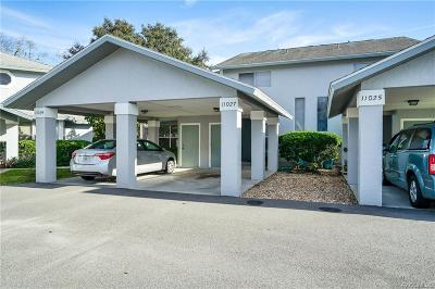 Crystal River Condo/Townhouse For Sale: 11027 W Harbor Watch Loop