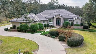 Lecanto FL Single Family Home For Sale: $694,900