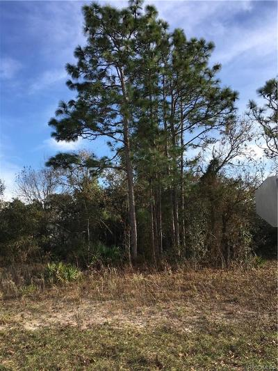 Homosassa Residential Lots & Land For Sale: 261 Pine Street