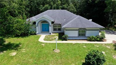 Citrus County Single Family Home For Sale: 1418 E Saint James Loop