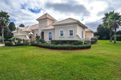 Citrus County Single Family Home For Sale: 1522 N Eagle Ridge Path