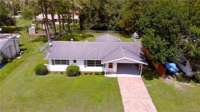 Dunnellon Single Family Home For Sale: 21449 SW Honeysuckle Street