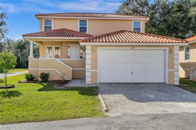 Homosassa, Dunnellon Condo/Townhouse For Sale: 4810 S Amstel Drive #125