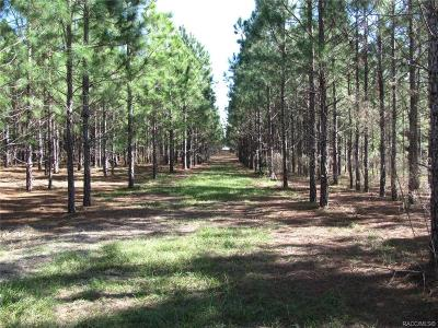 Crystal River Residential Lots & Land For Sale: 6779 N Myaka Avenue