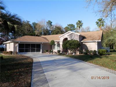 Homosassa Single Family Home For Sale: 117 Douglas Street