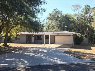 Inverness Single Family Home For Sale: 6544 E Mockingbird Lane