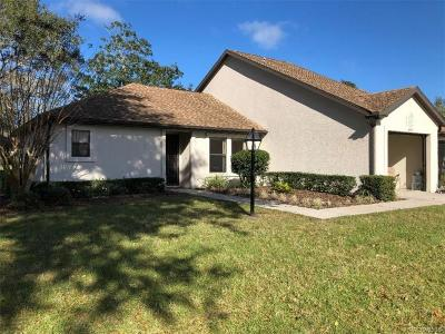 Crystal River Single Family Home For Sale: 6361 W Lexington Drive