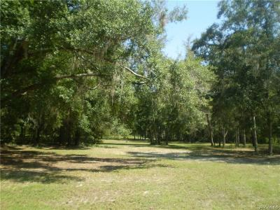 Lecanto Residential Lots & Land For Sale: 1540 S Lecanto Highway