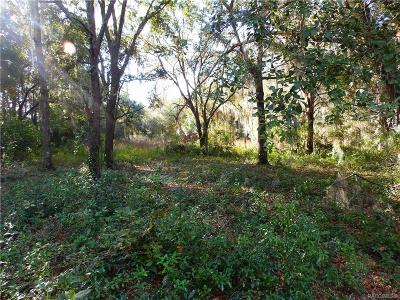Dunnellon Residential Lots & Land For Sale: 5788 W Riverbend Road