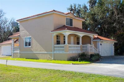 Homosassa Condo/Townhouse For Sale: 4792 Amstel Drive S