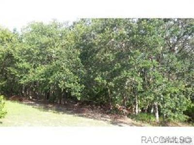 Citrus County Residential Lots & Land For Sale: 6592 W Park Drive