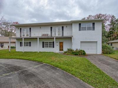 Crystal River Single Family Home For Sale: 546 NW 9 Avenue