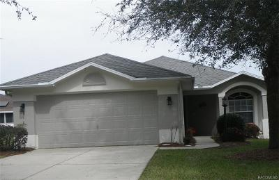 Lecanto Single Family Home For Sale: 2101 N Brentwood Circle
