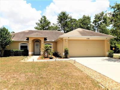 Spring Hill Single Family Home For Sale: 4186 Gondolier Road