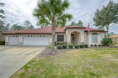 Homosassa Single Family Home For Sale: 153 Linder Drive