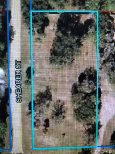 Inglis Residential Lots & Land For Sale: 267 Shearer
