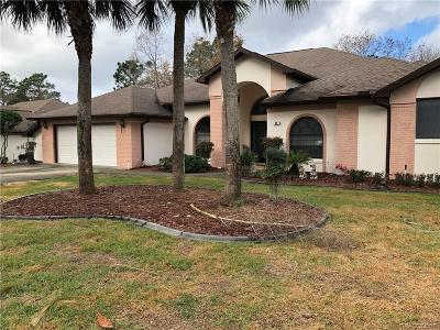 Homosassa Single Family Home For Sale: 80 Linder Drive