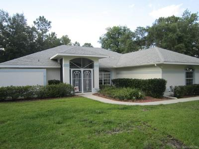 Inverness Single Family Home For Sale: 900 N Lafayette Way