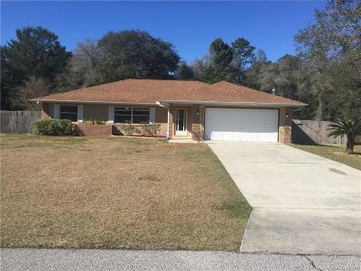 Citrus Springs Single Family Home For Sale: 8998 N Gilovu Drive