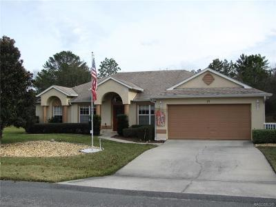 Homosassa Single Family Home For Sale: 15 Judi Court