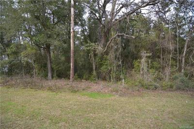 Hernando Residential Lots & Land For Sale: 1655 W Stafford Street