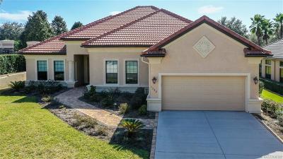Hernando Single Family Home For Sale: 1392 N Ridge Meadow Path