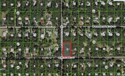 Hernando Residential Lots & Land For Sale: 415 W National Street