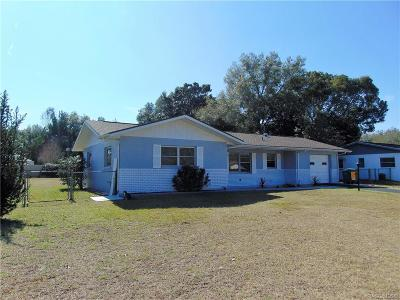 Inverness Single Family Home For Sale: 1507 Tuttle Street