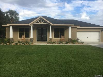 Inverness FL Single Family Home For Sale: $221,900