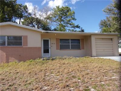 Citrus County Rental For Rent: 62 S Davis Street